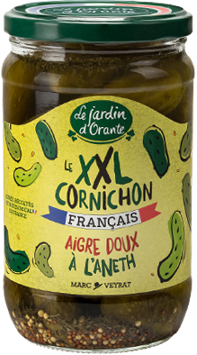 jardin orante le xxl cornichon - Le nouveau cornichon français Le Jardin d'Orante est XXL