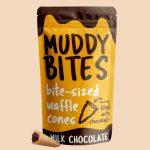 muddy bites 150x150 - Qui aime croquer le bout chocolaté du cône des glaces ?