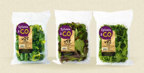 produit brutes salades - Sylvain & Co, des fruits et légumes frais au quotidien