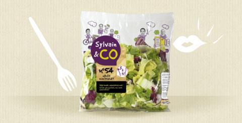 produit salades 24pers - Sylvain & Co, des fruits et légumes frais au quotidien