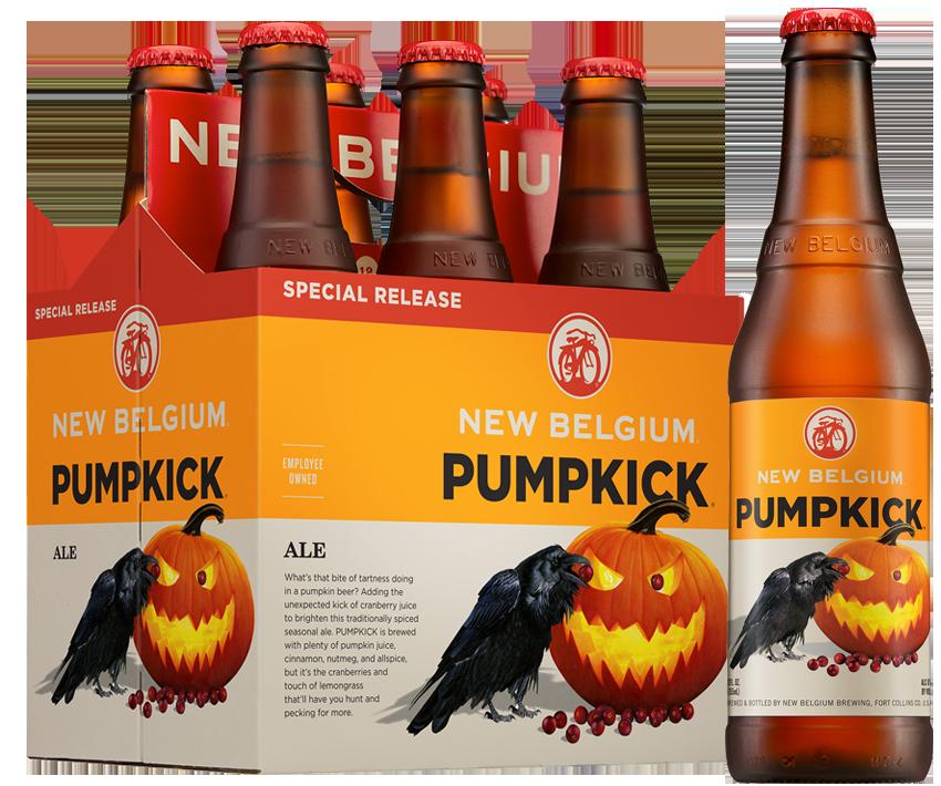 pumpkick l - De la bière à la citrouille