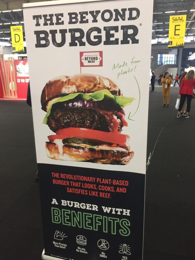 IMG 9982 e1540396903910 768x1024 - Dégustation du burger Beyond Meat au SIAL