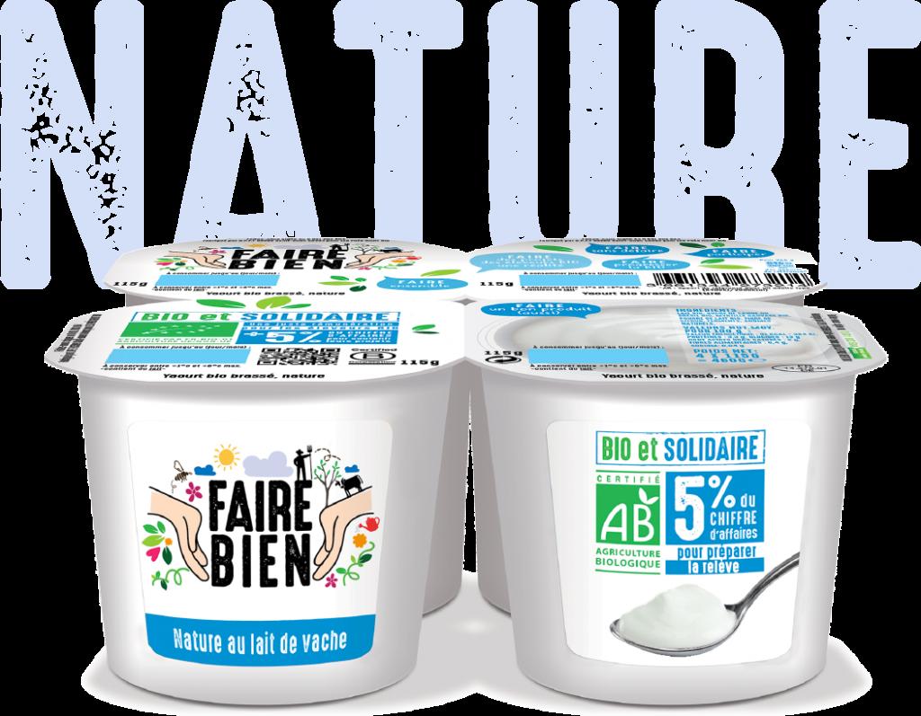 Nature 6 1024x797 - Faire Bien, une nouvelle marque de yaourt bio et solidaire