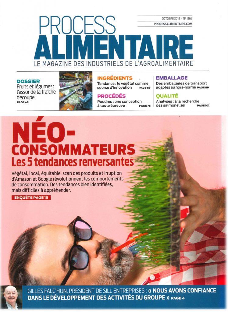 """ProcessAlimentaire 748x1024 - Intervention dans le dossier """"Néo-consommateurs. Les 5 tendances renversantes"""" du magazine Process Alimentaire"""