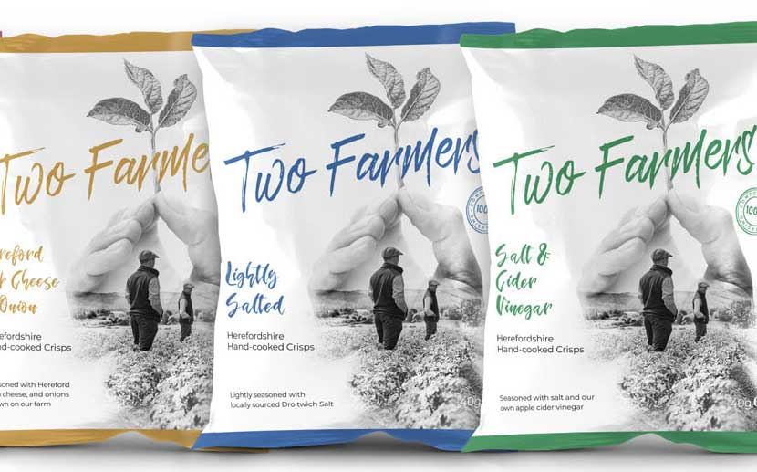 Two Farmers - Des emballages 100% compostables