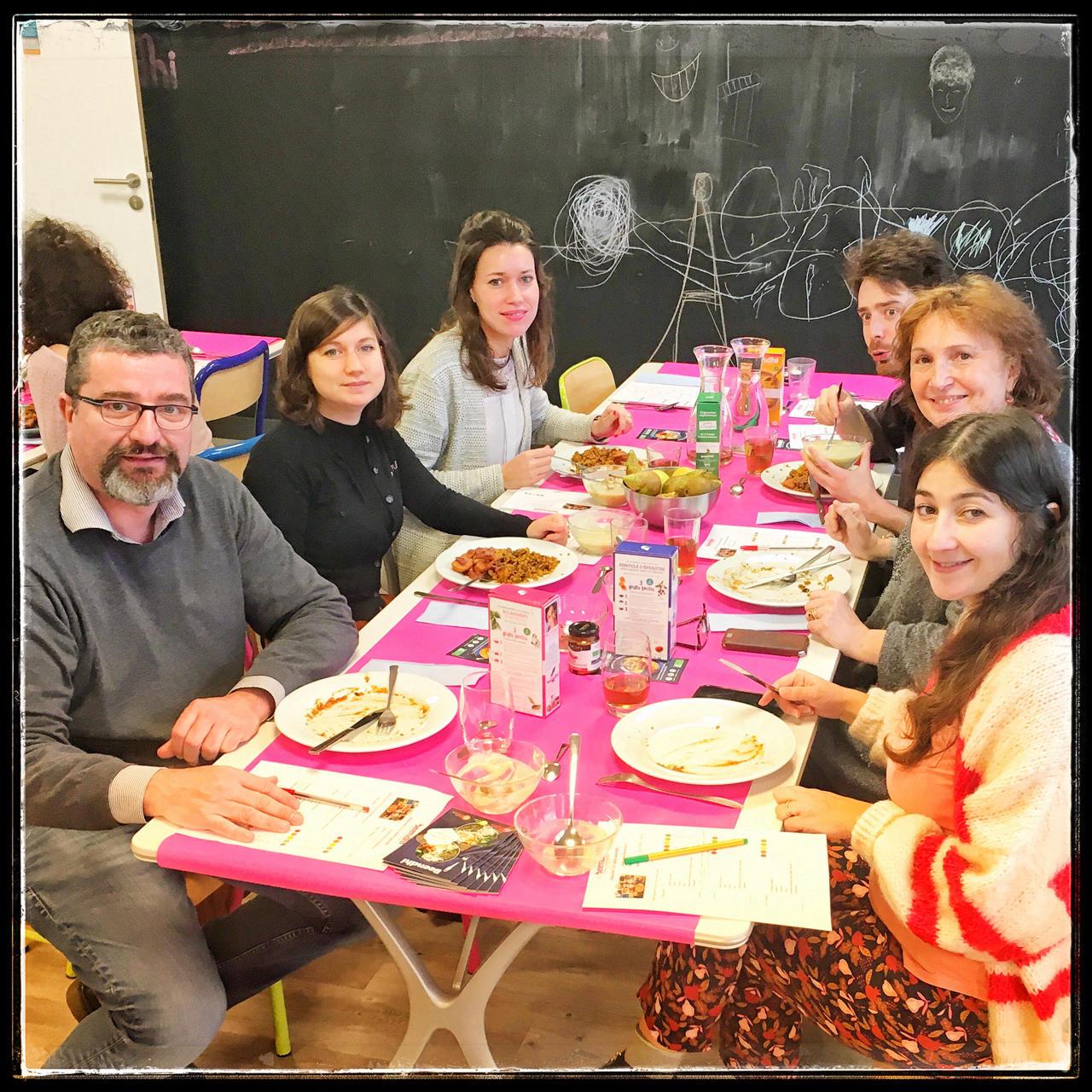 0 3 - Déjeuner participatif chez Beendhi : un voyage en terre végétale