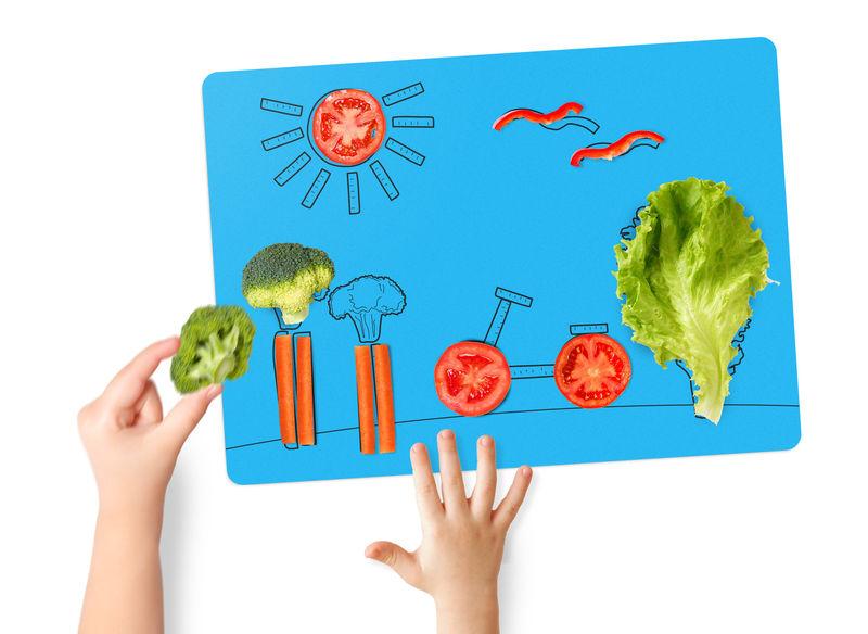 391755 2 800 - Un plateau interactif pour faire aimer les légumes aux enfants