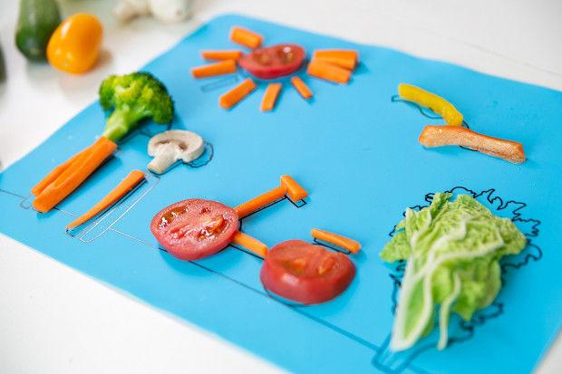 391755 5 800 - Un plateau interactif pour faire aimer les légumes aux enfants