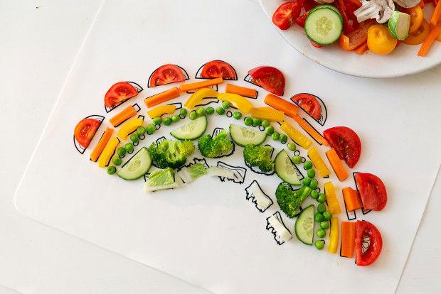 391755 6 800 - Un plateau interactif pour faire aimer les légumes aux enfants
