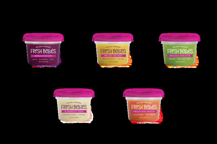 Fresh Bellies expands with boldly seasoned refrigerated HPP baby food wrbm large - Des purées pour éduquer les jeunes consommateurs