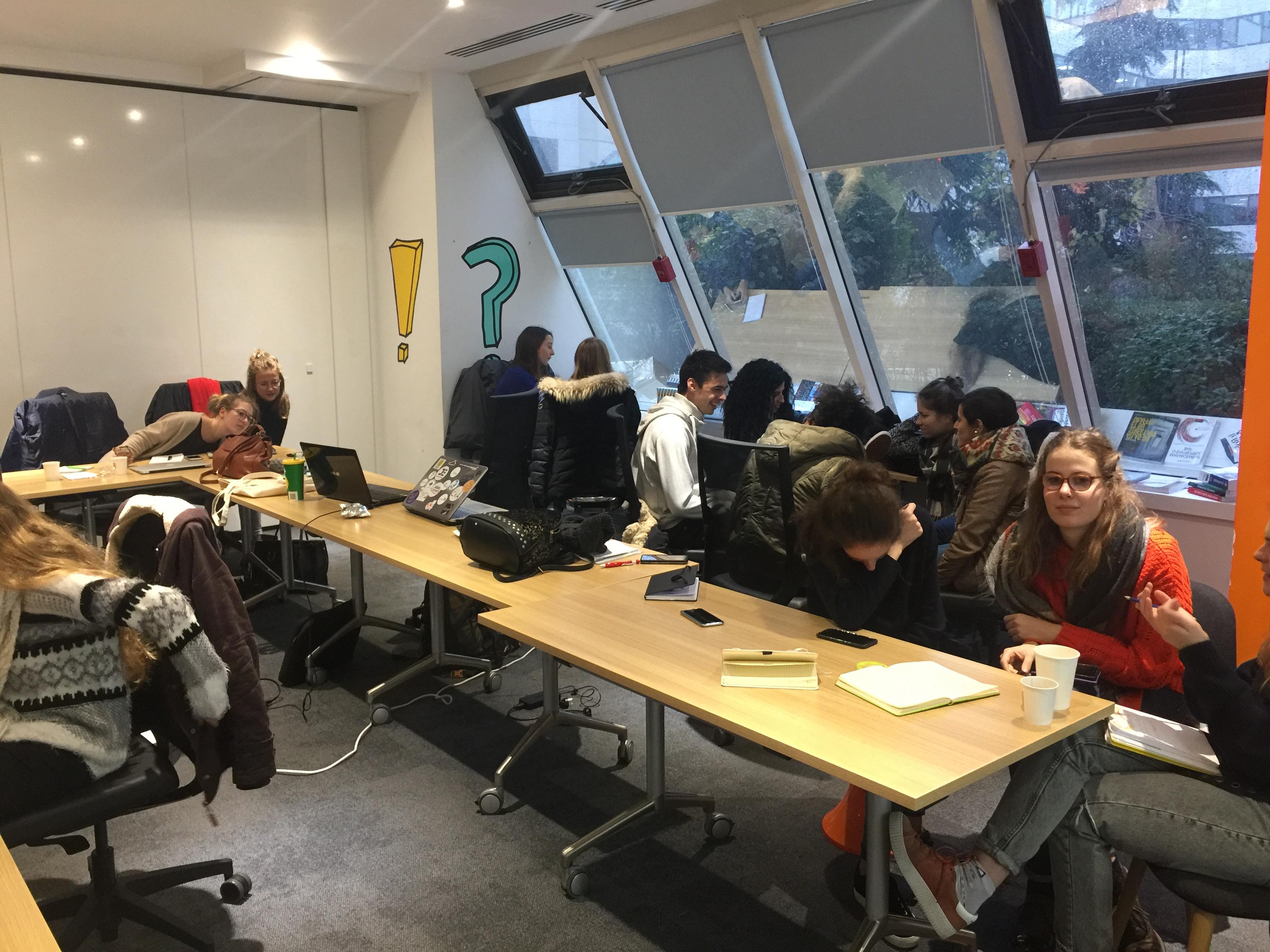 IMG 0201 - Conférence atelier avec les étudiants Unilasalle