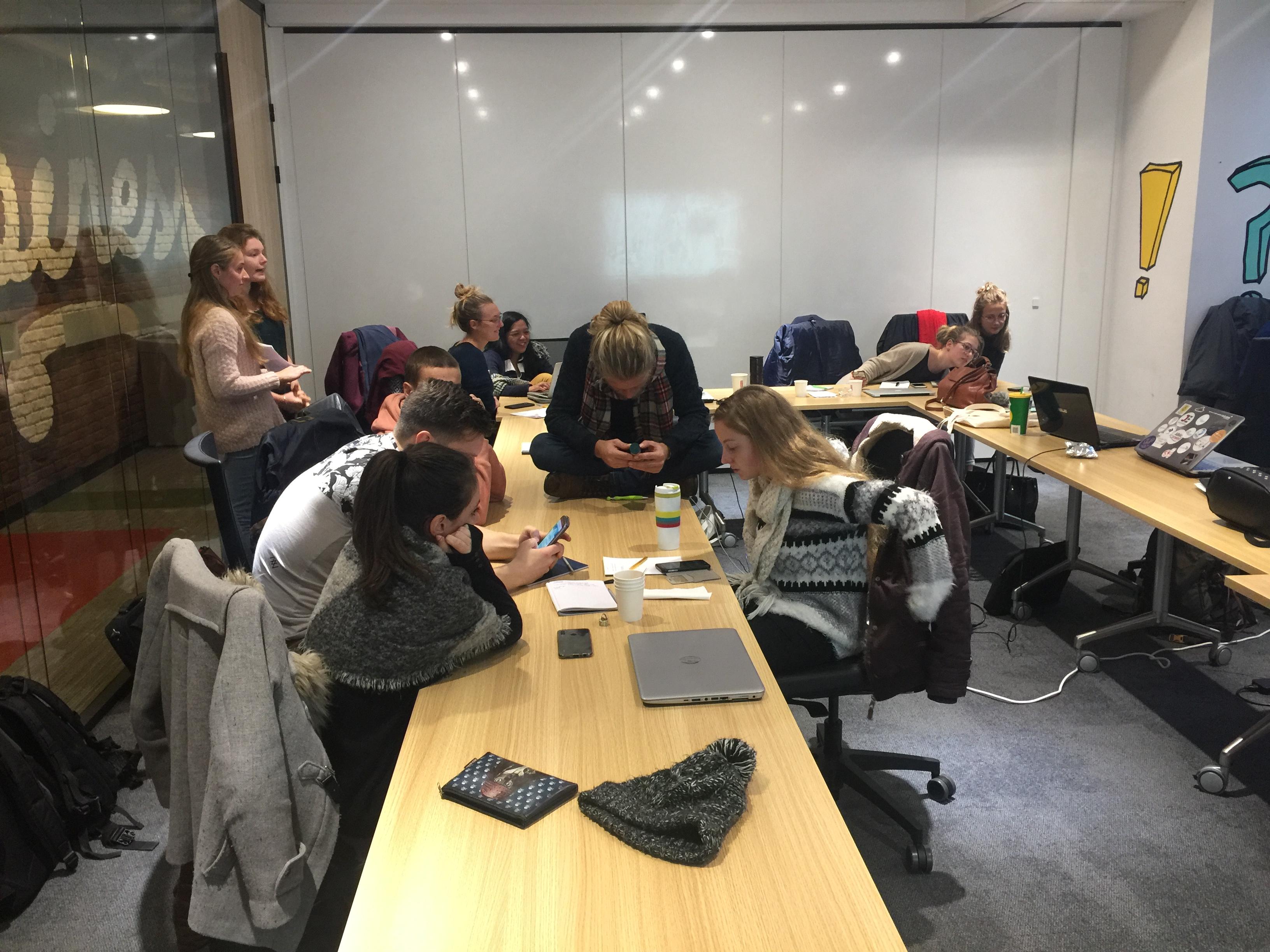 IMG 0202 - Conférence atelier avec les étudiants Unilasalle