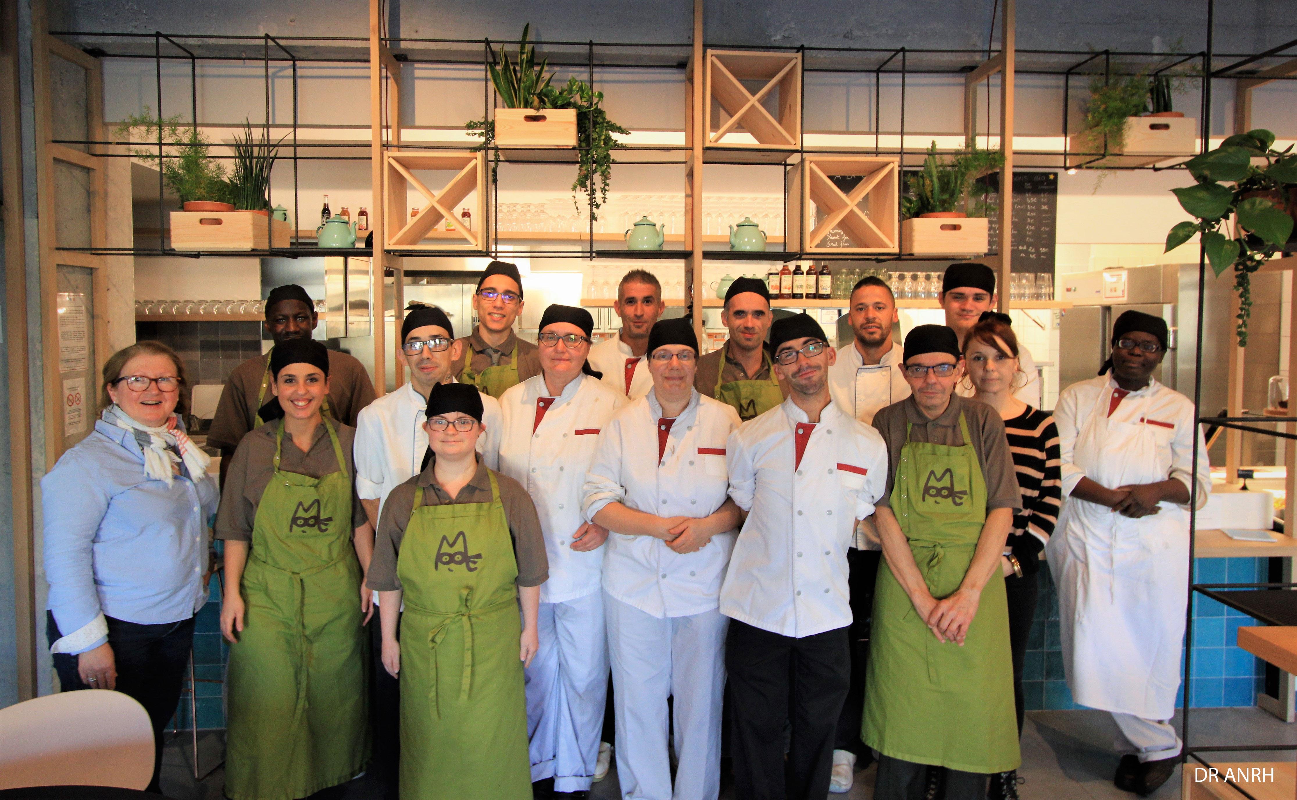 La bande à Maurice - Les petits plats de Maurice : un restaurant tenu par des travailleurs en situation de handicap