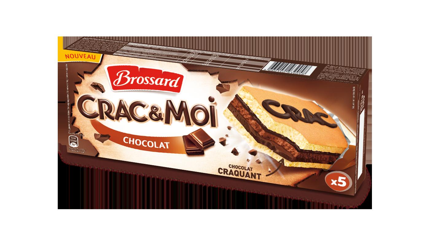 brossard crac et moi chocolat 1 - Brossard réunit le moelleux du gâteau et le craquant du chocolat