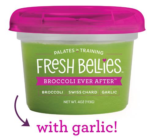 flavors broccoli ever after - Des purées pour éduquer les jeunes consommateurs