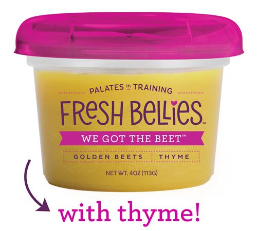 flavors we got the beet - Des purées pour éduquer les jeunes consommateurs