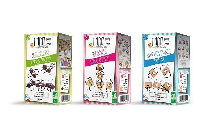 """minimiz - """"Miniz & Cie"""", les goûters bio et bons pour tous"""