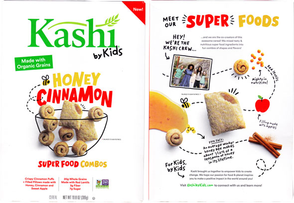 p 338 kashi kids honey cinnamon cereal review - Quand les enfants remplacent la R&D !