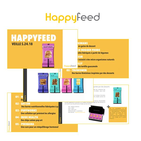 veille - Happyfeed Veille : soyez informé des futurs produits alimentaires à succès avant vos concurrents