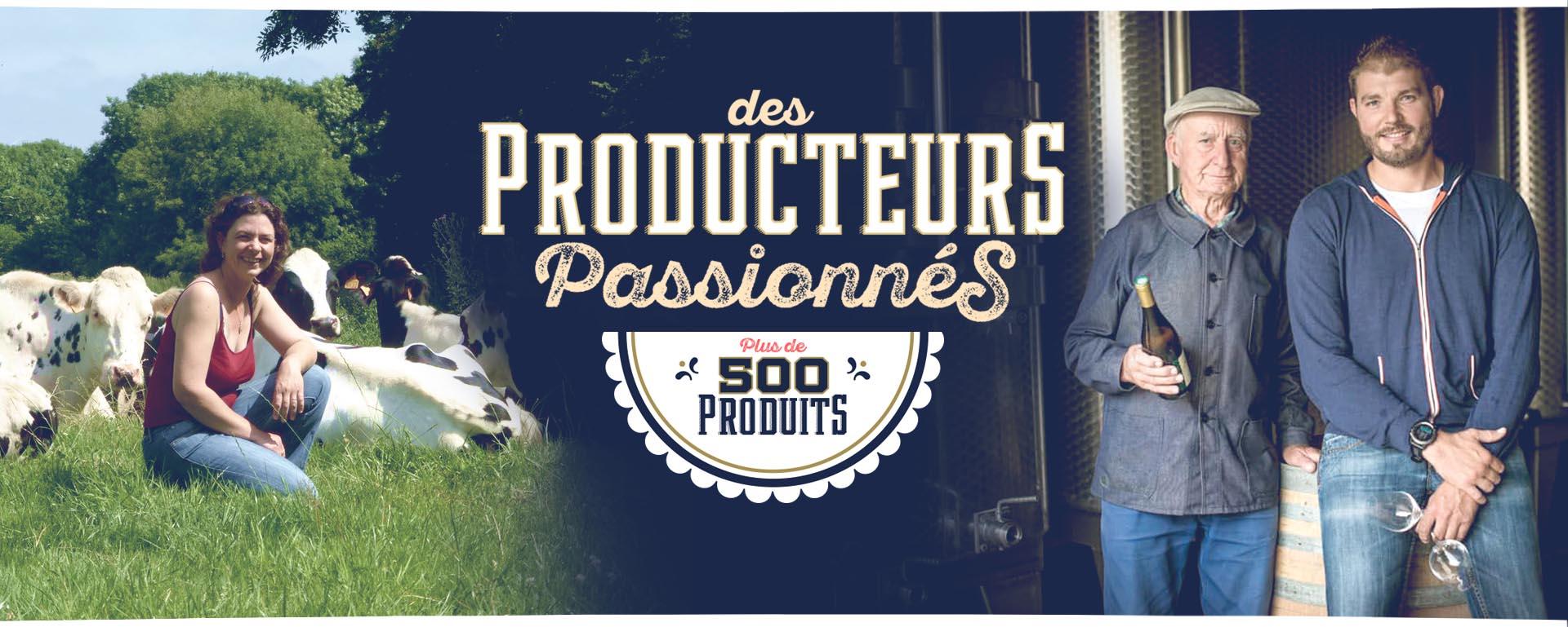 """Bannière Producteurs passionnés - Interview de Bastien Moussou, co-fondateur """"d'Issu d'à côté"""""""