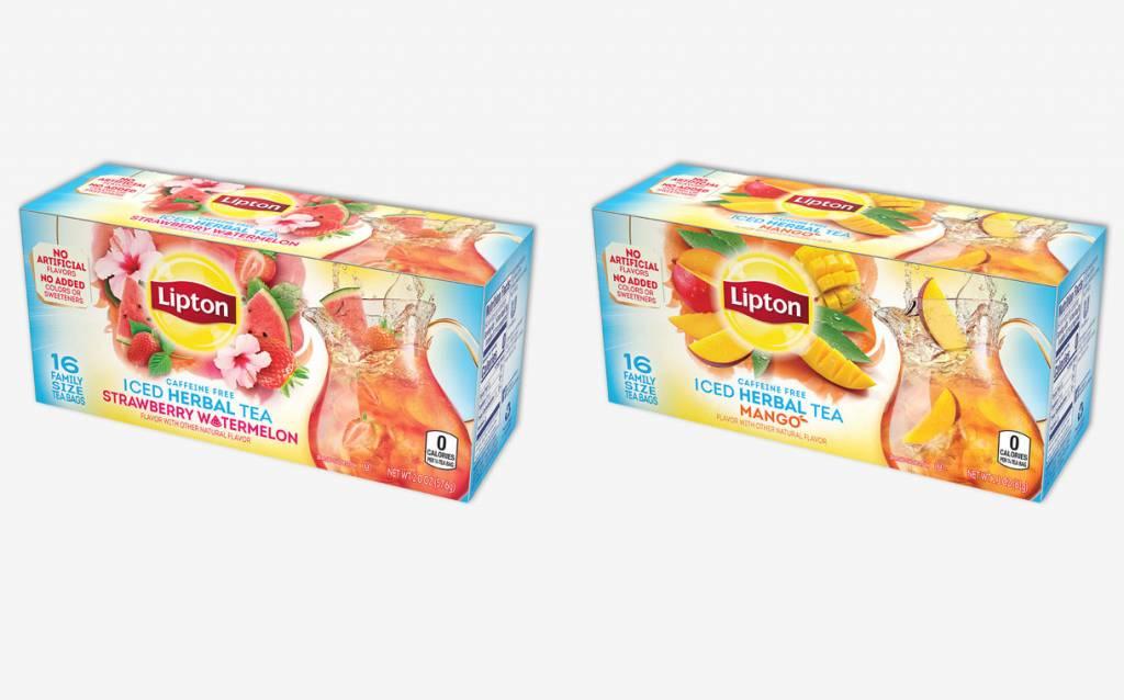 Lipton fruit teas 1024x638 - Les 5 produits alimentaires innovants de 2018 selon FoodBev Media