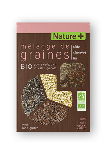 MélangeCCL NATURE 2018 - Mélanges de graines bio Nature +