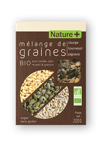 MélangeCTP NATURE 2018 - Mélanges de graines bio Nature +