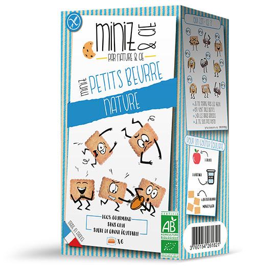 NC13280 Miniz petits beurre web - Miniz & Cie : une nouvelle gamme de produits bio et sans gluten, destinée aux enfants