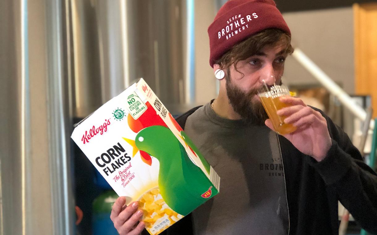Seven Bro7hers 2 - Des bières à base de déchets de céréales