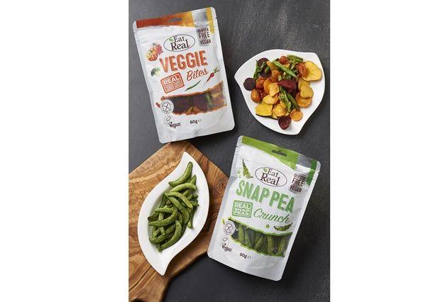 eat real - Des collations indulgentes aux légumes