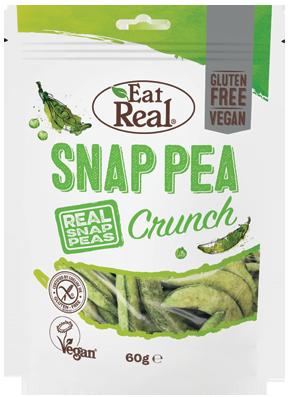 snap pea crunch - Des collations indulgentes aux légumes
