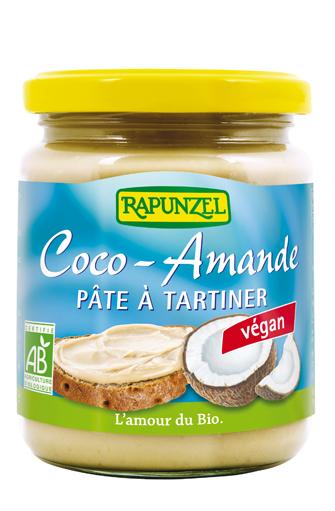 11002 pate tartiner noix de coco amande bio vegan rapunzel - Rapunzel : un leader européen sur le marché des produits biologiques