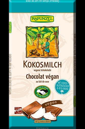 14110 chocolat vegan lait de coco - Rapunzel : un leader européen sur le marché des produits biologiques