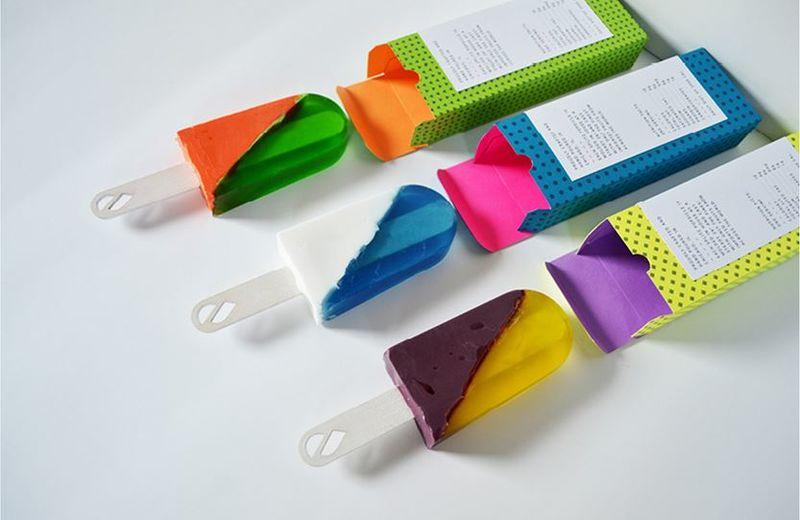 295268 1 800 - Quand les emballages prennent de la couleur...