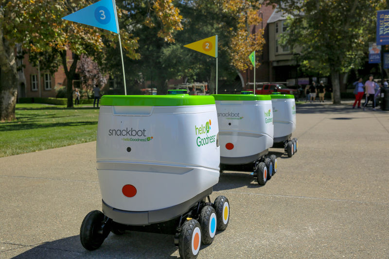 395194 2 800 - Des robots pour livrer des collations PepsiCo