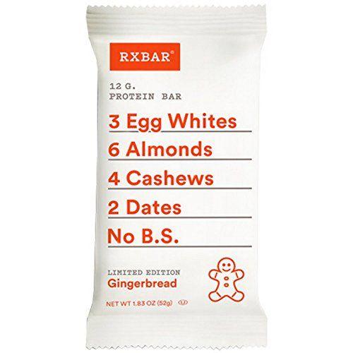 395816 1 800 - RXBAR sort une édition limitée au pain d'épice