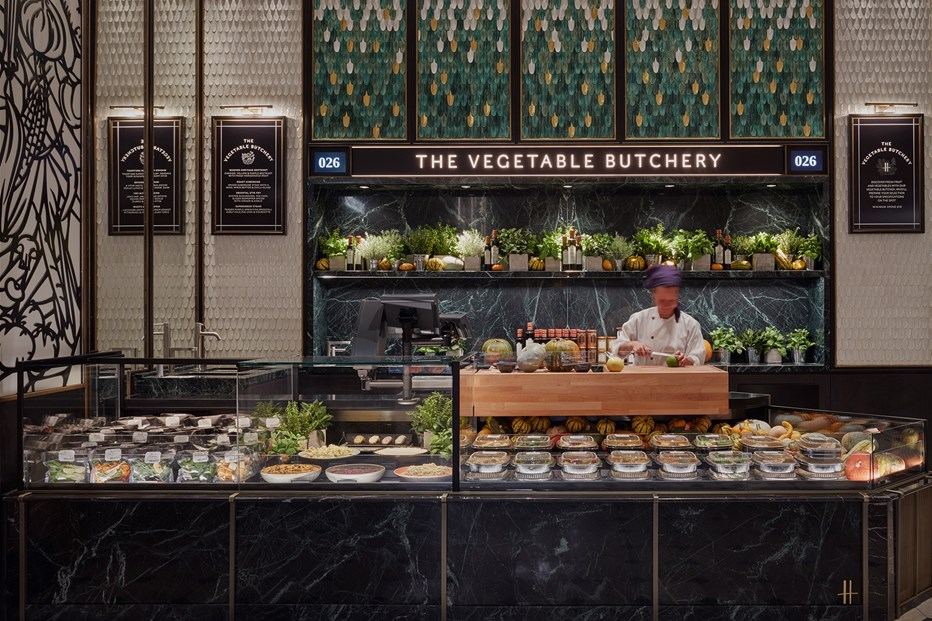 3 veg butcher - Un boucher de légumes s'installe chez Harrods : The Vegetable Butchery