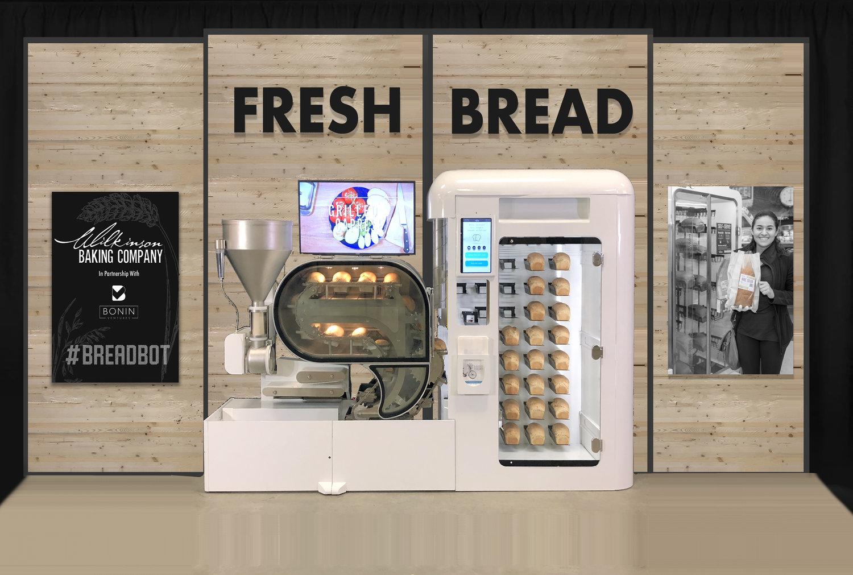 BreadbotDisplay Master - Un robot de boulangerie pour confectionner du pain frais