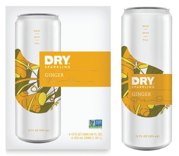 Ginger Can and 4pk - La canette pour tous les repas - DRY Soda