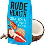 Granola CoconutChia 150x150 - Bien manger pour rester brillant - Rude Health