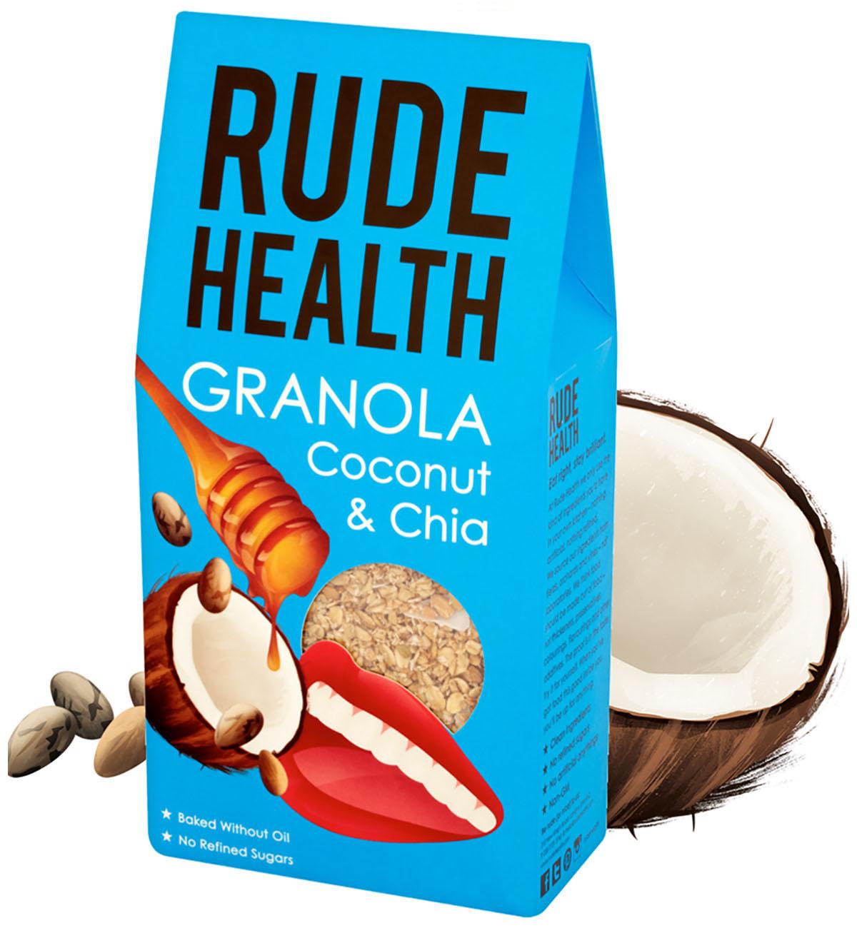 Granola CoconutChia - Bien manger pour rester brillant - Rude Health