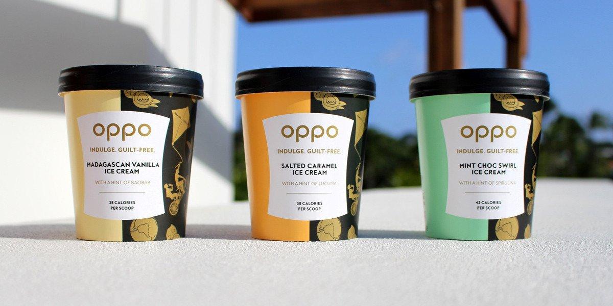 Oppo Ice Cream Header - Une glace qui prône l'indulgence saine - oppo
