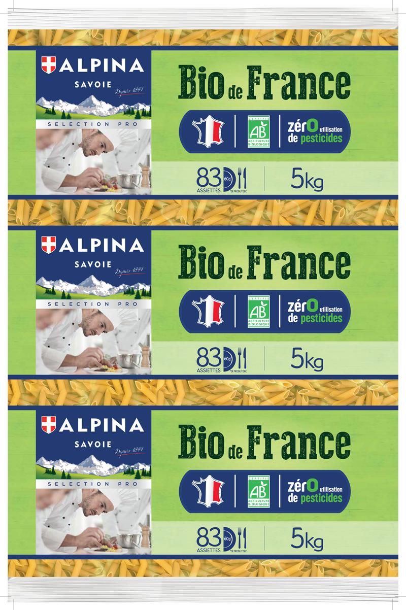 biodefrance - Alpina Savoie lance une gamme de pâtes Bio de France garantie sans utilisation de pesticide