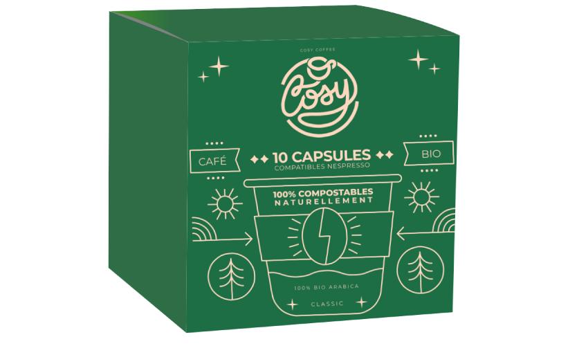 box2 - Cosy Coffee, les premières capsules de café 100% compostables