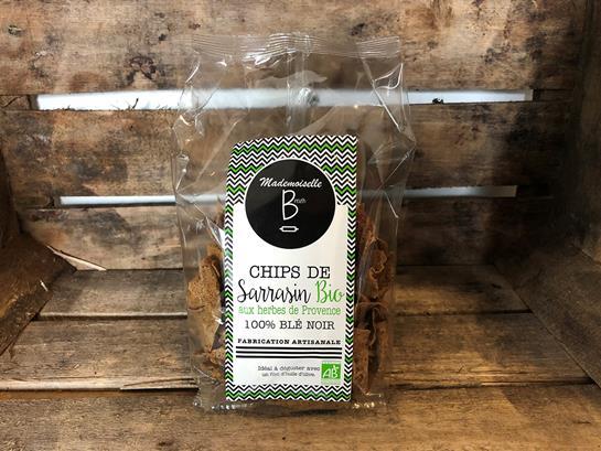 chipsbio - Mademoiselle Breizh lance ses chips de sarrasin BIO