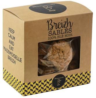 cookies - Mademoiselle Breizh lance ses chips de sarrasin BIO