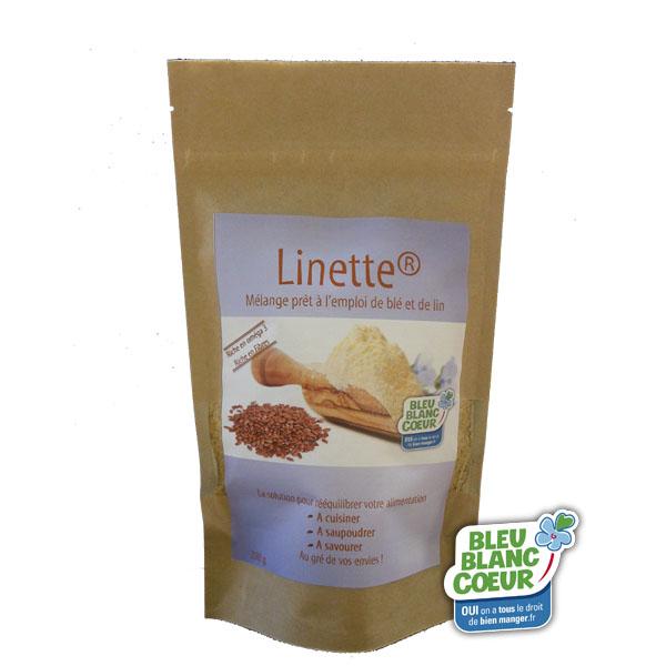 linette - Linette®, tous les bienfaits de la graine de lin dans une poudre prête à l'emploi