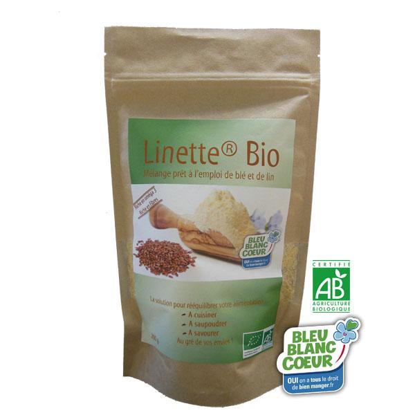 linette bio - Linette®, tous les bienfaits de la graine de lin dans une poudre prête à l'emploi
