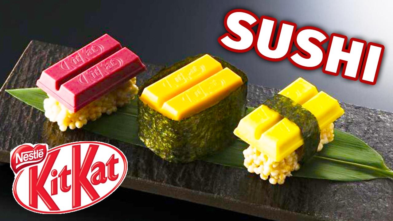 maxresdefault 1 - Des sushis japonais au chocolat - Kit Kat