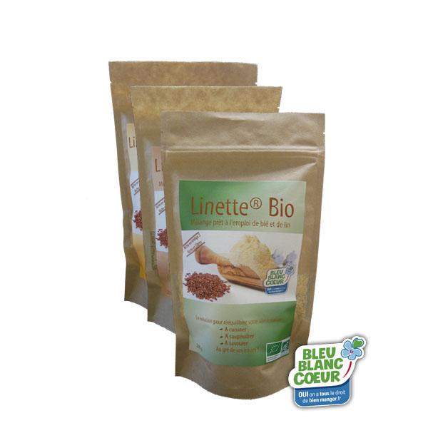 pack 1 - Linette®, tous les bienfaits de la graine de lin dans une poudre prête à l'emploi